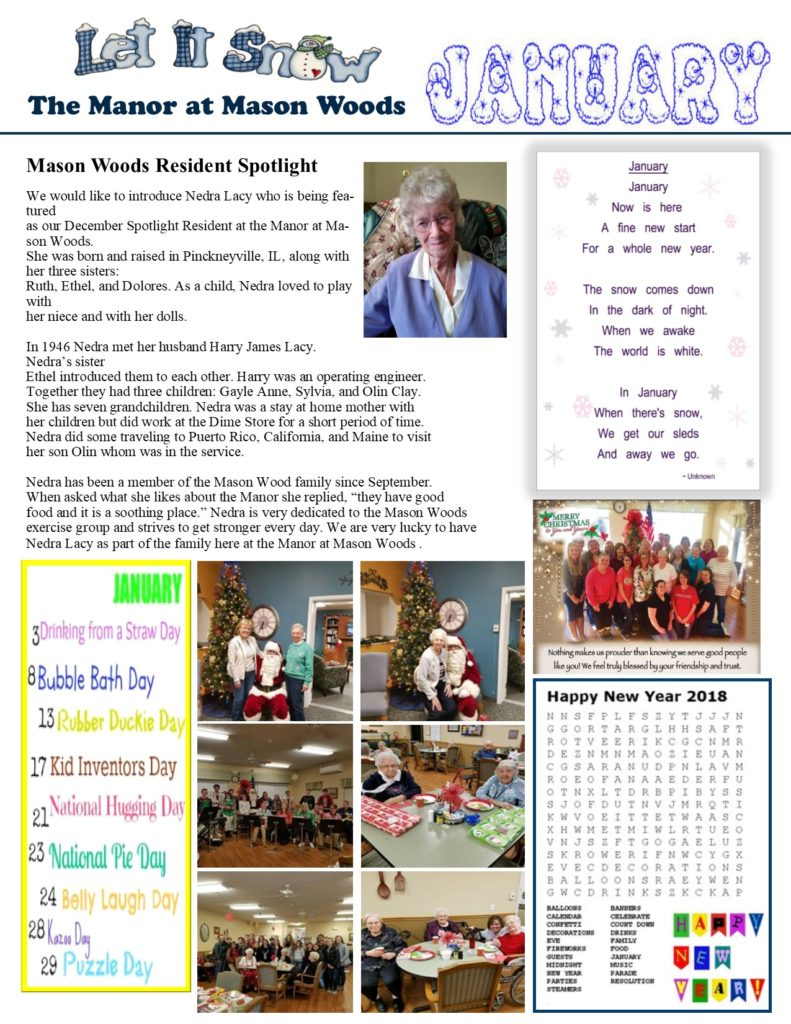 News & Events – The Manor at Mason Woods